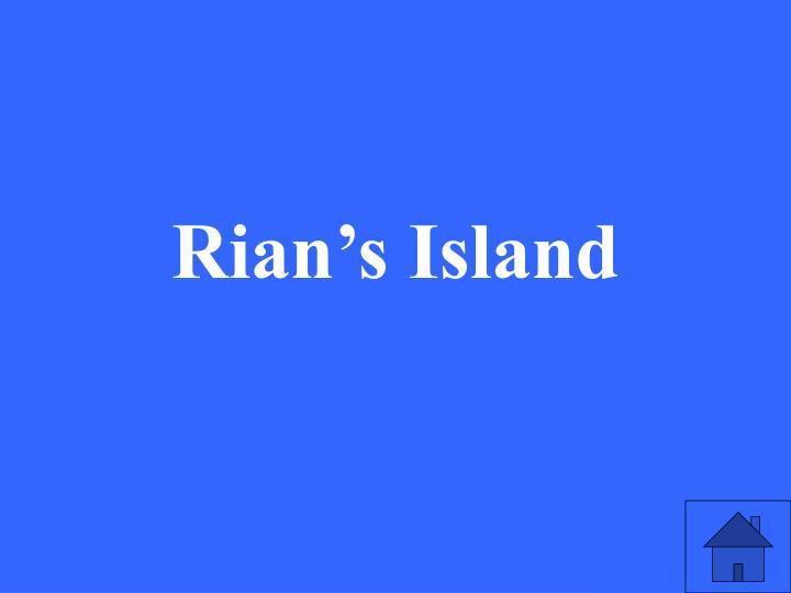 Rian's Island