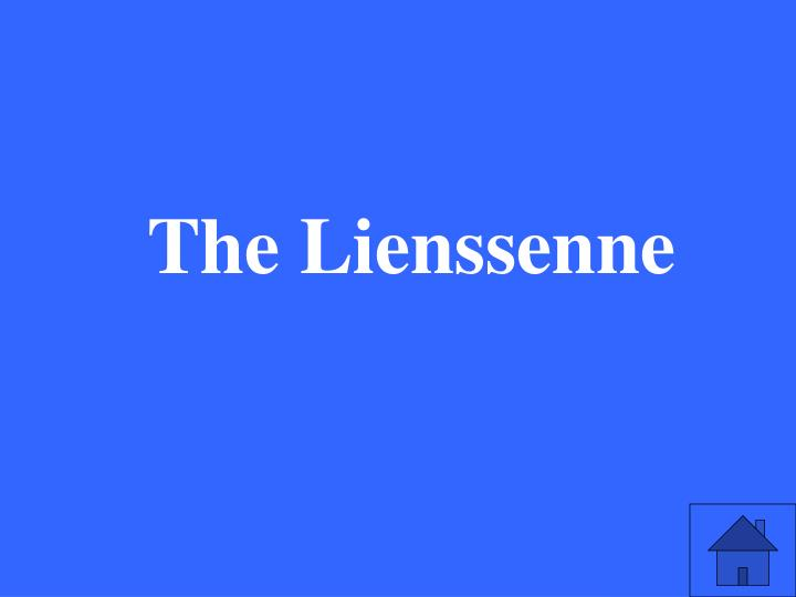 The Lienssenne