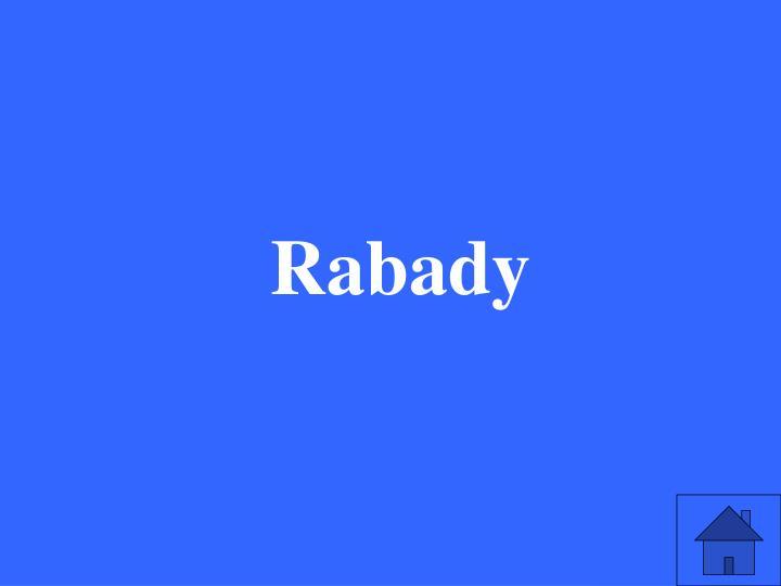 Rabady