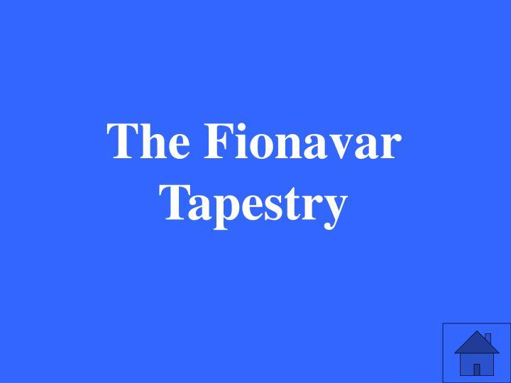 The Fionavar Tapestry