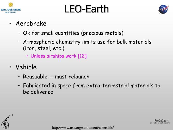 LEO-Earth