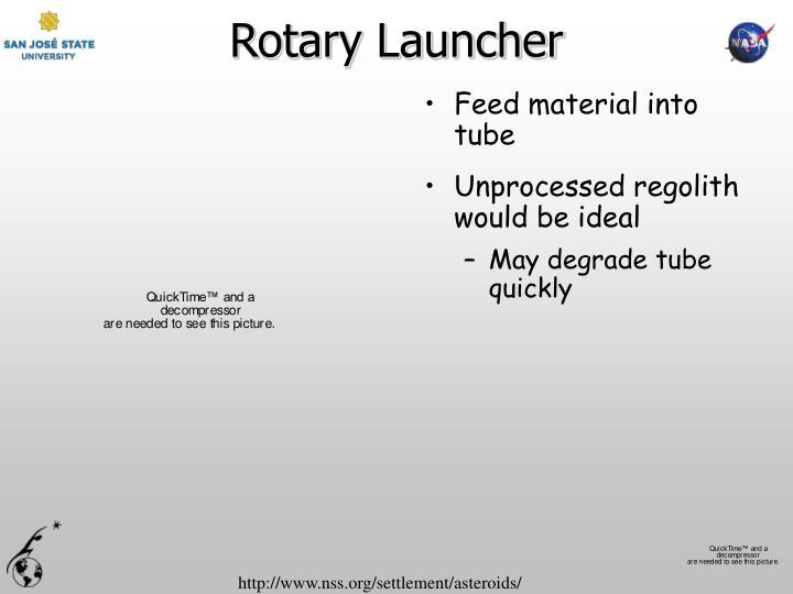 Rotary Launcher