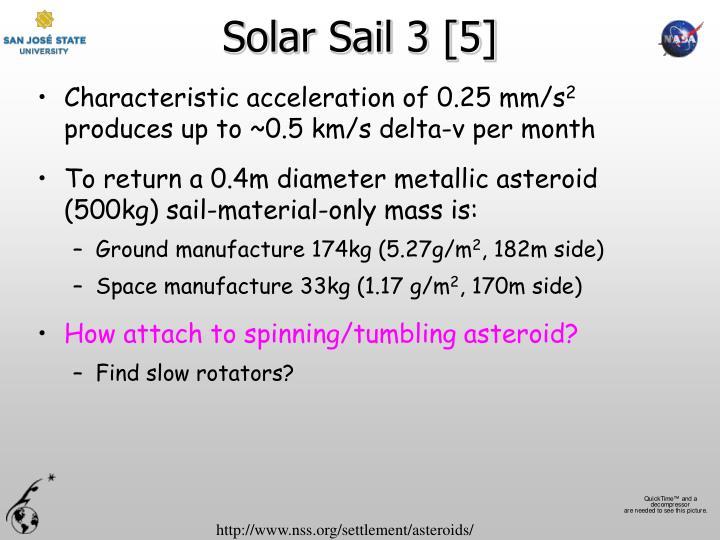 Solar Sail 3 [5]