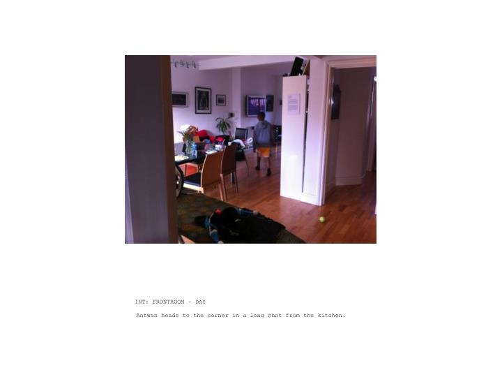INT: FRONTROOM - DAY