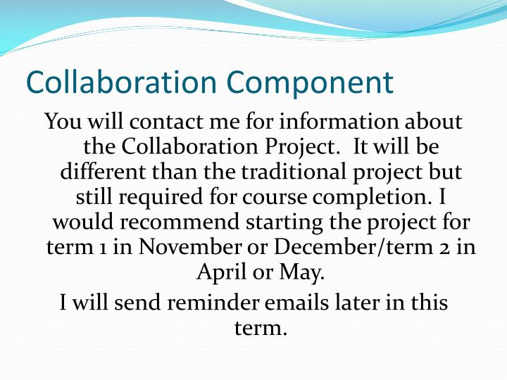 Collaboration Component