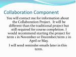 collaboration component