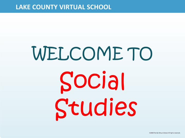 Lake county virtual school