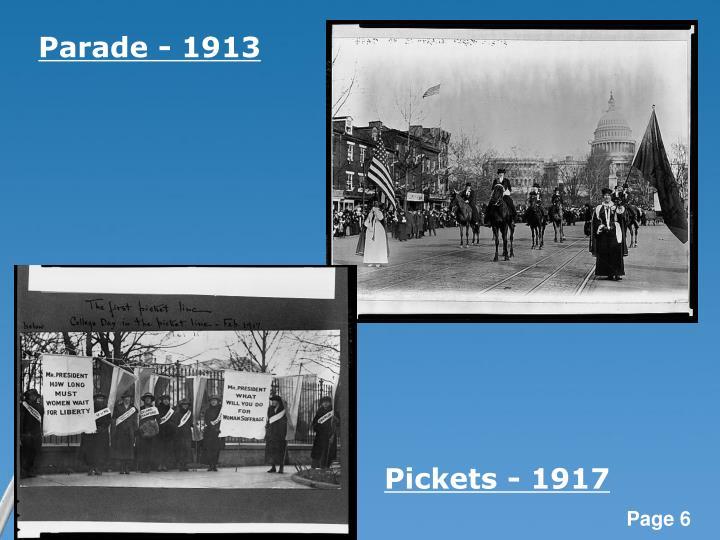 Parade - 1913