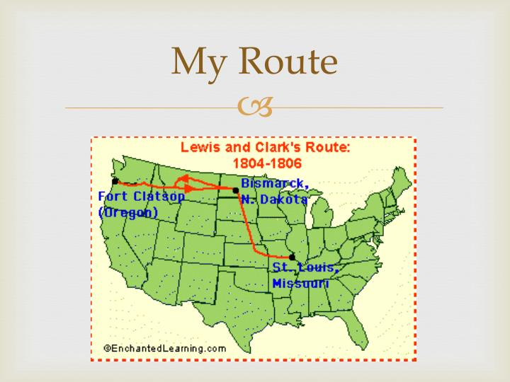 My Route