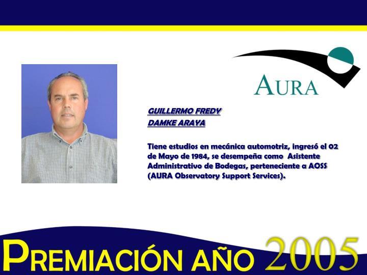 GUILLERMO FREDY