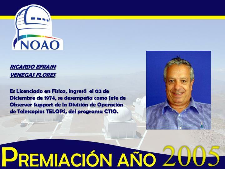 RICARDO EFRAIN