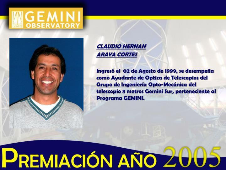 CLAUDIO HERNAN