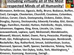 including virtually all of the most respected minds of all humanity3