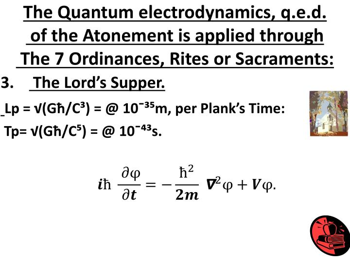 The Quantum electrodynamics