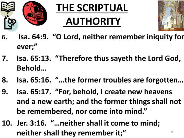 THE SCRIPTUAL