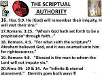 the scriptual authority3