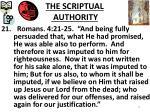 the scriptual authority4
