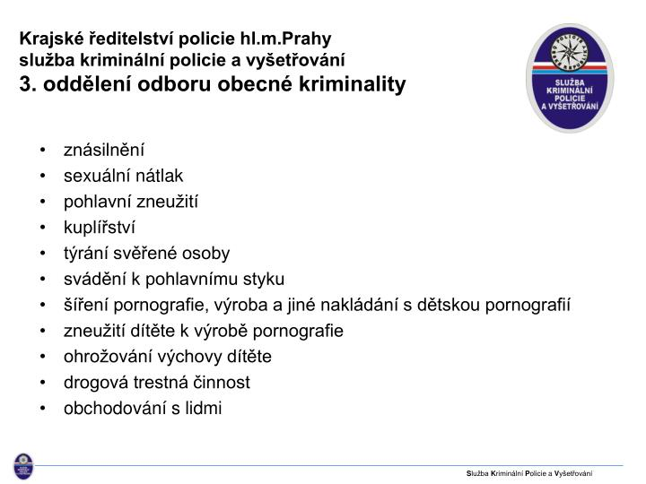 Krajské ředitelství policie hl.m.Prahy