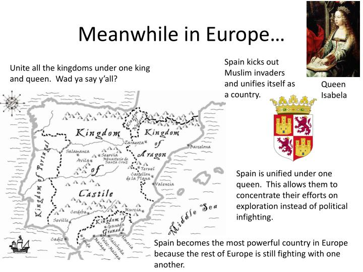 Meanwhile in Europe…
