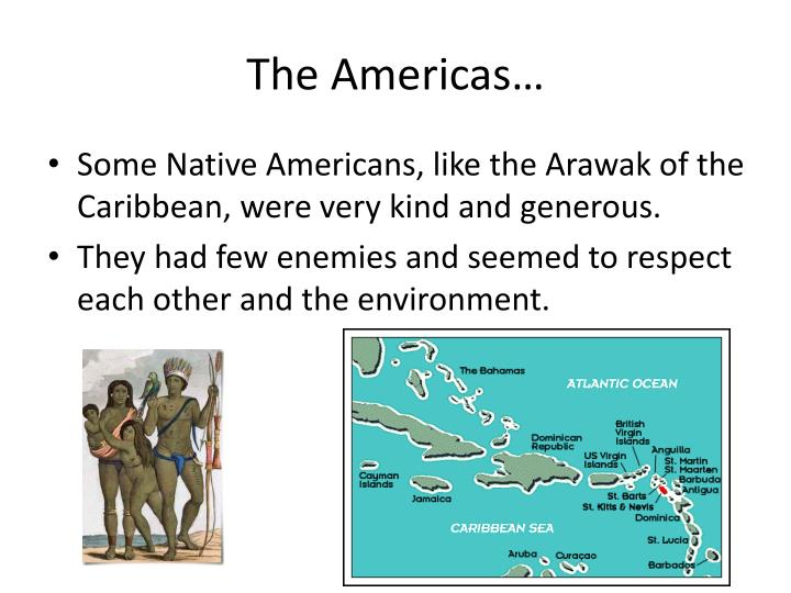The Americas…