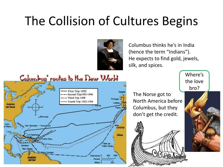 The Collision of Cultures Begins