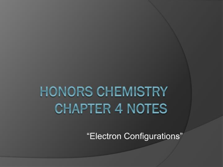 honors chemistry 1 notes The next video is starting stop loading.