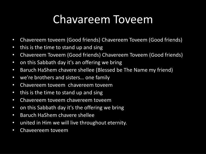Chavareem Toveem