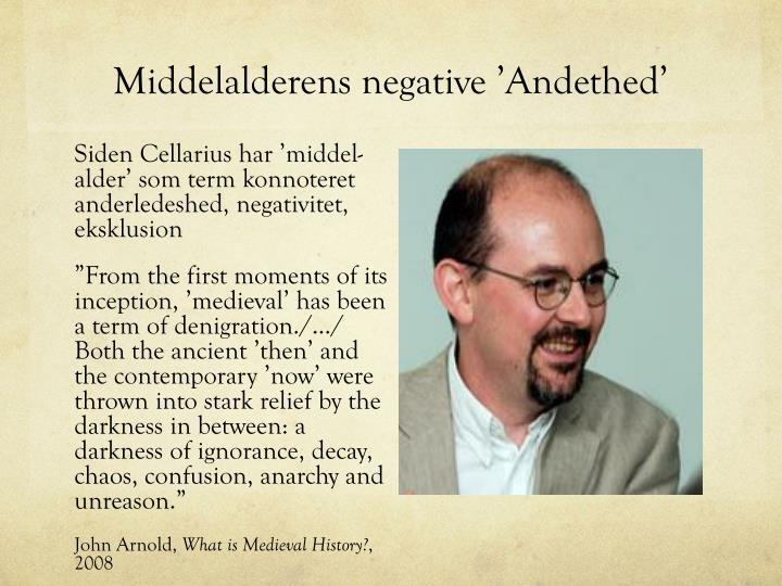 Middelalderens negative