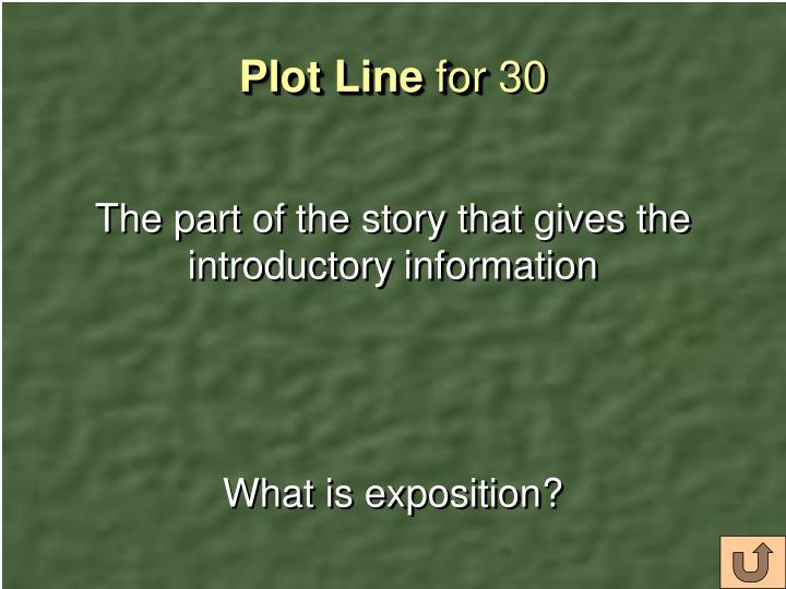 Plot Line