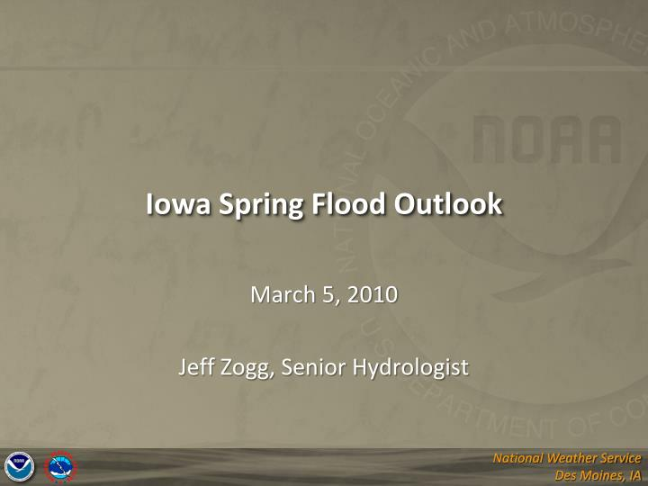 iowa spring flood outlook