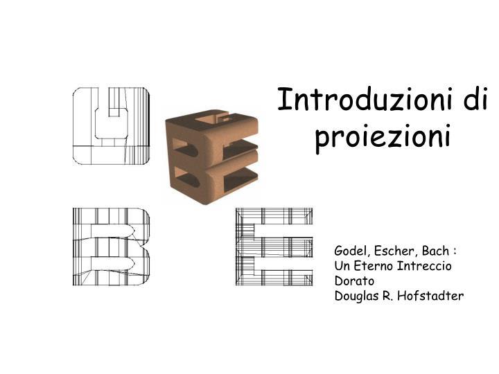 Introduzioni di proiezioni