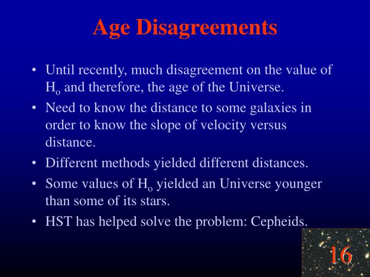Age Disagreements