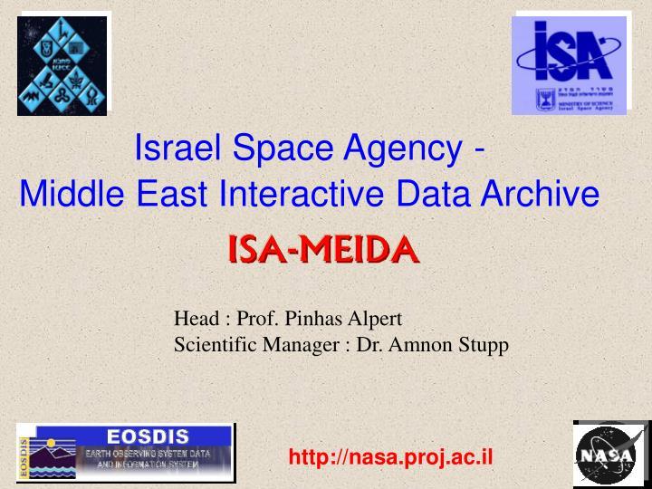 Israel Space Agency -