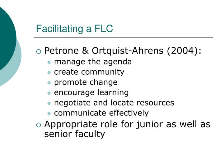 Facilitating a FLC
