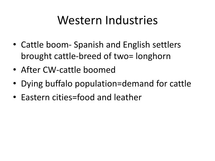 Western Industries