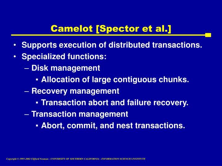 Camelot [Spector et al.]