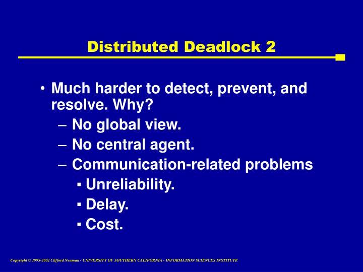 Distributed Deadlock 2