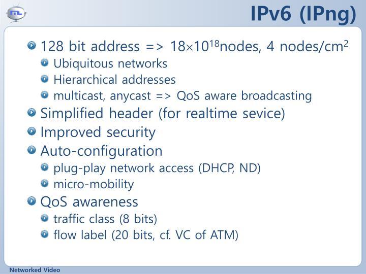 IPv6 (IPng)