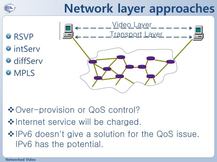 Network layer approaches
