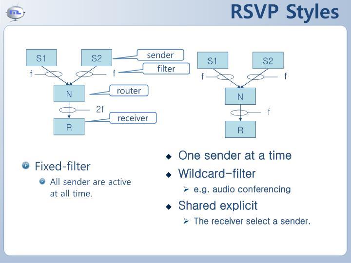 RSVP Styles
