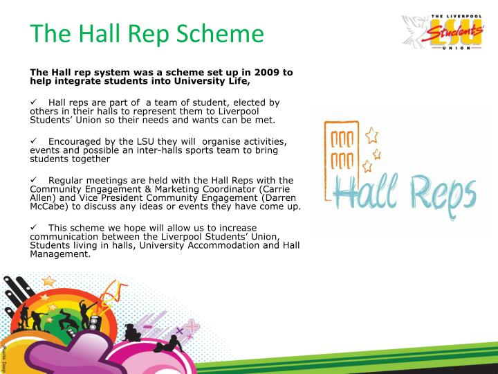 The Hall Rep Scheme