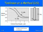 tomlinson or method us3