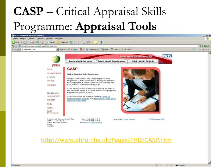 critical apprasial Critical appraisal charlene clark loewenberg school of nursing abstract the purpose of this critical appraisal is to review a particular recent research article.