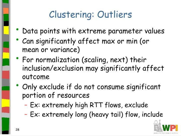 Clustering: Outliers