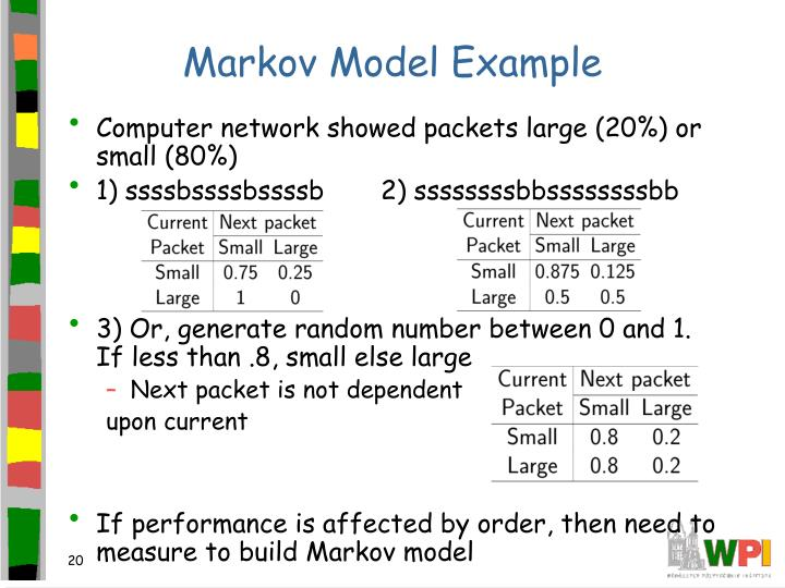 Markov Model Example