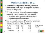 markov models 1 of 2