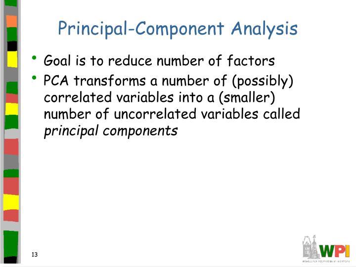 Principal-Component Analysis