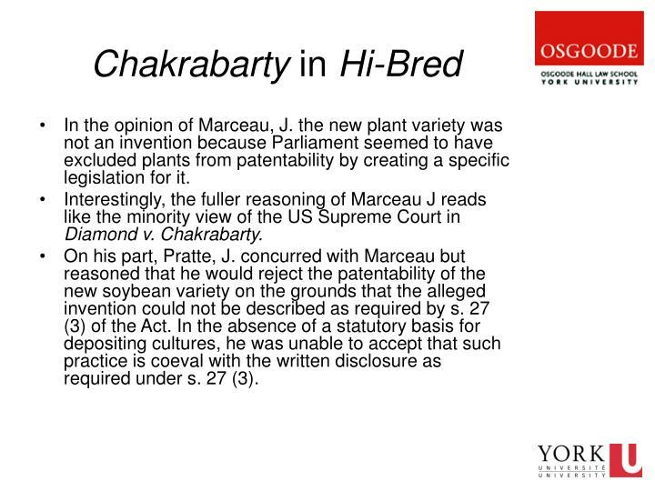 Chakrabarty