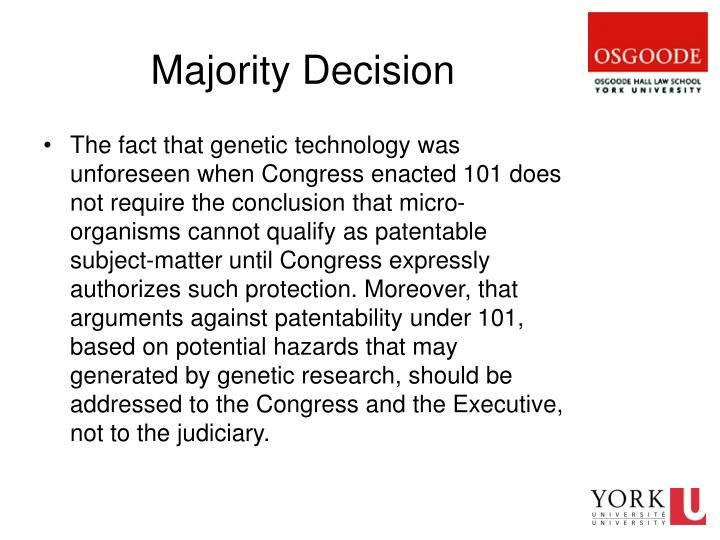 Majority Decision