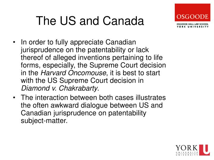 The US and Canada